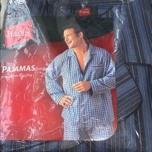 2 piece Hanes Pajamas  Medium